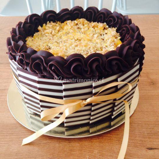 Torta toffee
