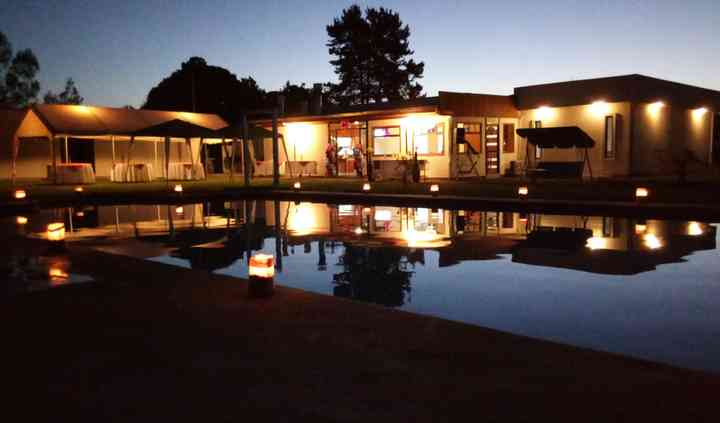 Fiesta de noche en verano