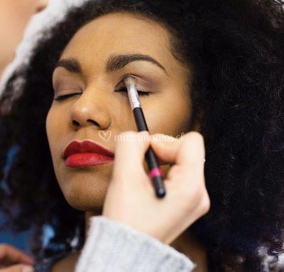 Maquillaje práctica académica