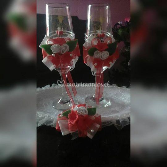 Copas para novios