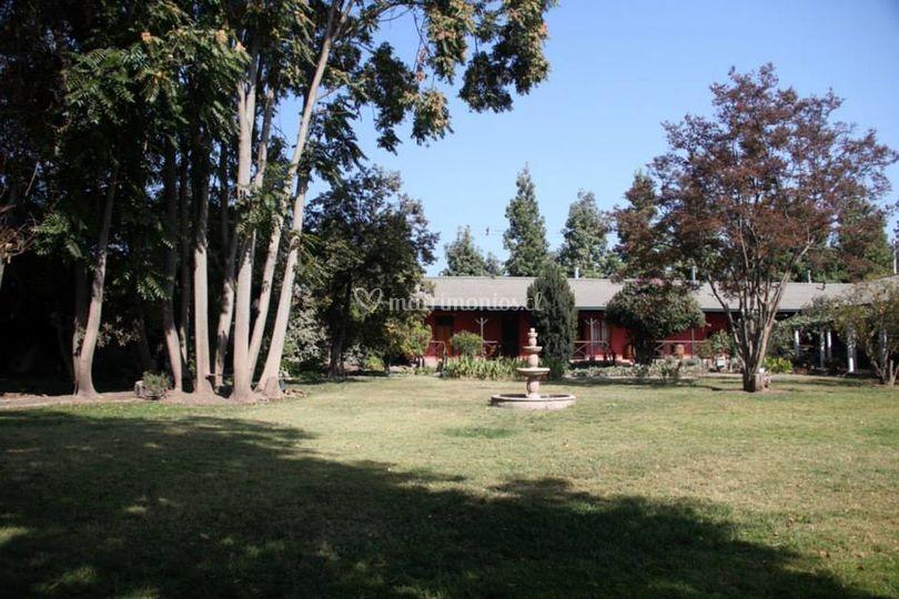 Amplios jardín