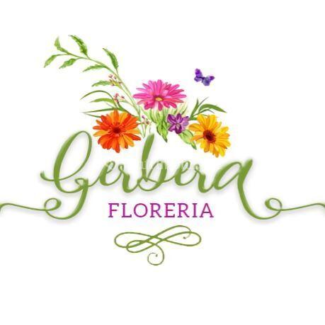 Logo floreria gebera