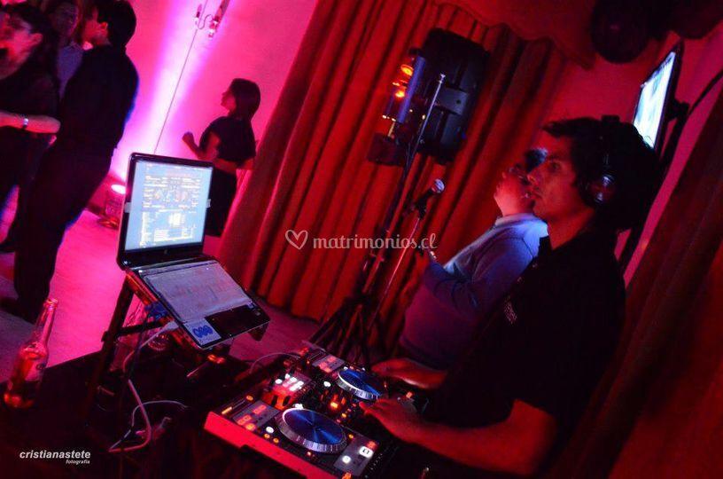 DJ para la fiesta