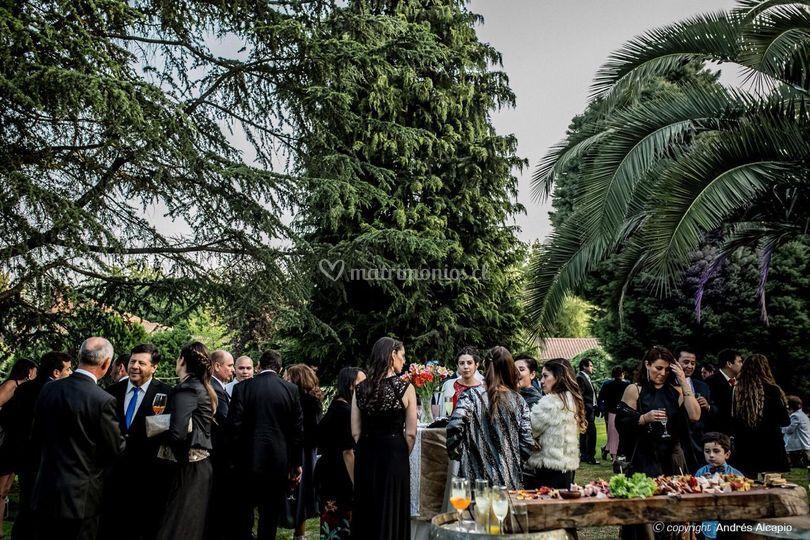 Banquetes al aire libre