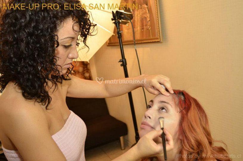 Inicio de maquillaje