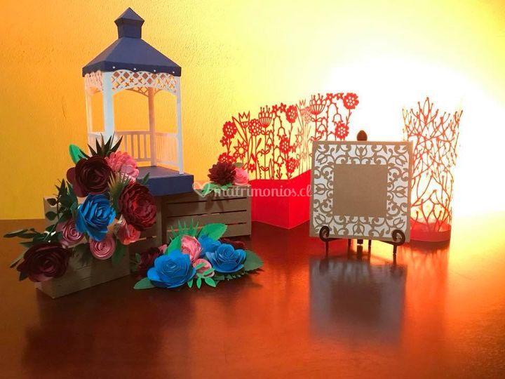 Tarjetería y decoración