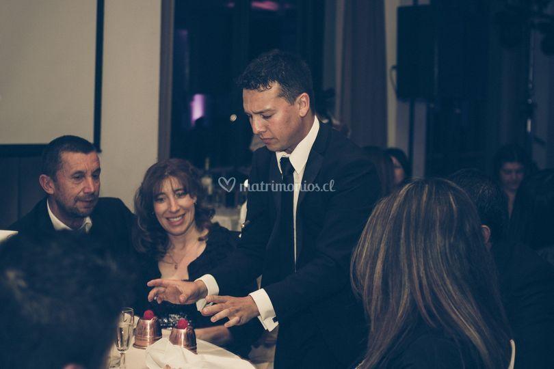 Matrimonio en Club Esañol