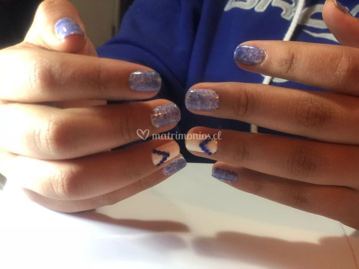 Cristales azul