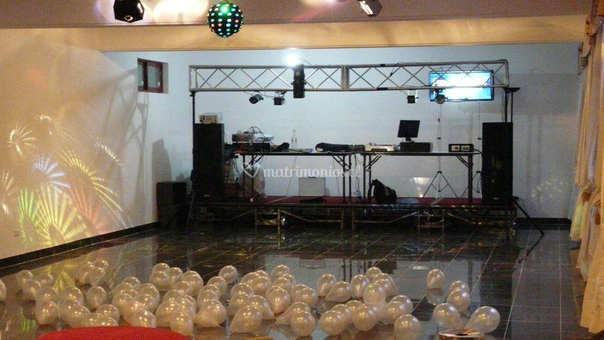 Salón de baile discoteca