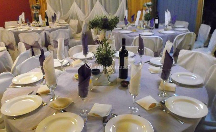 Vajilla y mesa