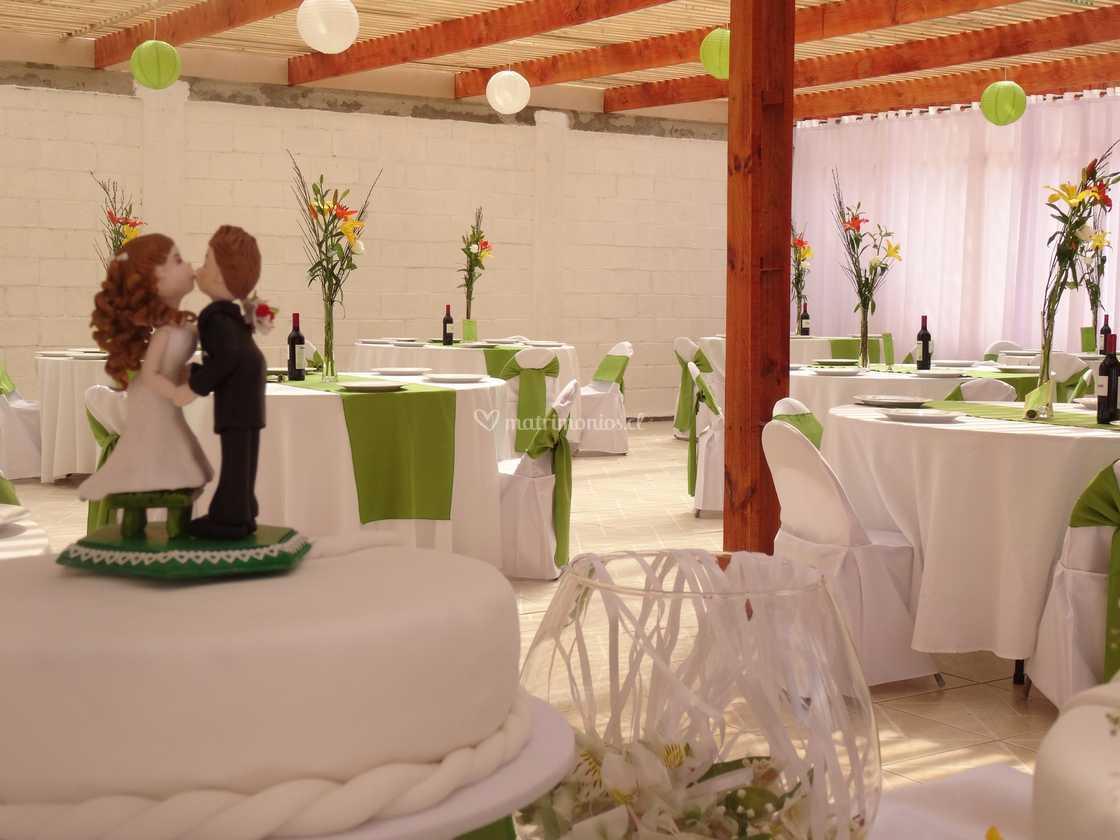 Salón de estilo verde pistacho de La Casona de Gregoria | Foto 5