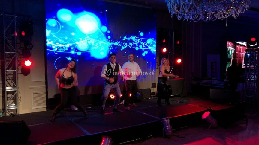 Baile entretenido Hotel Ritz
