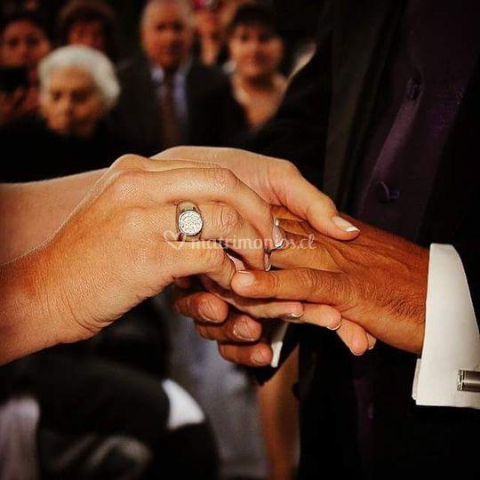 Momento de postura de anillos