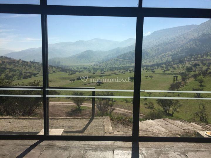 Vista desde el salón