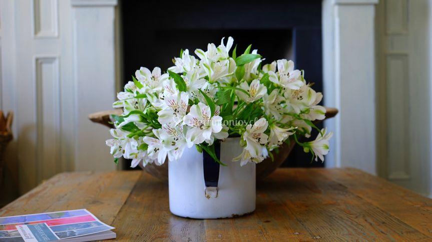 Arreglo floral alstroemerias
