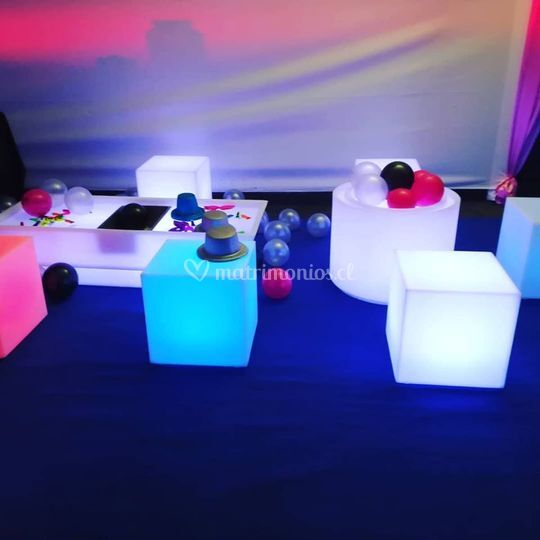 Mobiliario LED