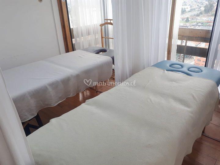 Espacios para masajes