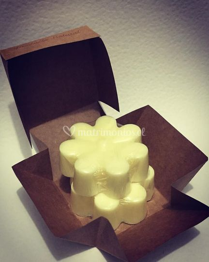 Caja con jabones