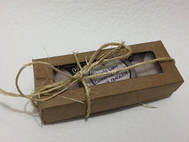 Caja jaboncitos y crema