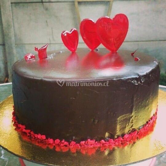 Torta chocolate y azúcar