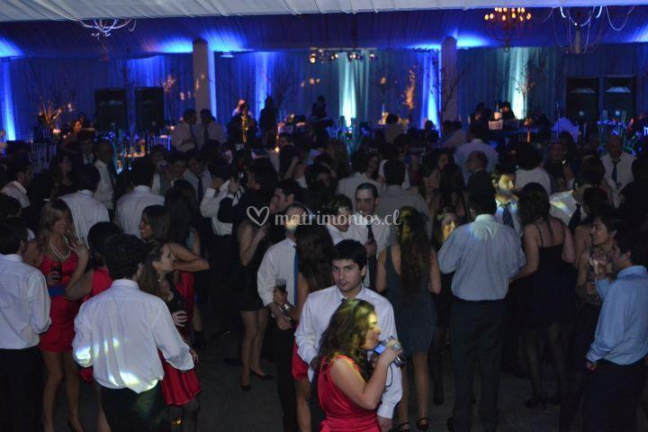 Audio e iluminación para bodas