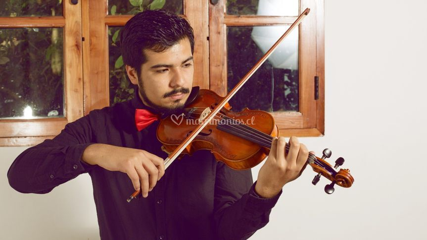 Manuel Baquedano, violinista