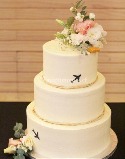 Torta con diseño personalizado