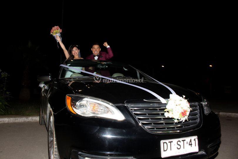 Se logró, nos casamos