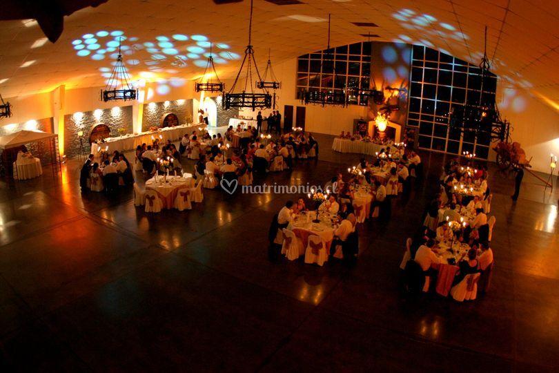 Banquete de matrimonio