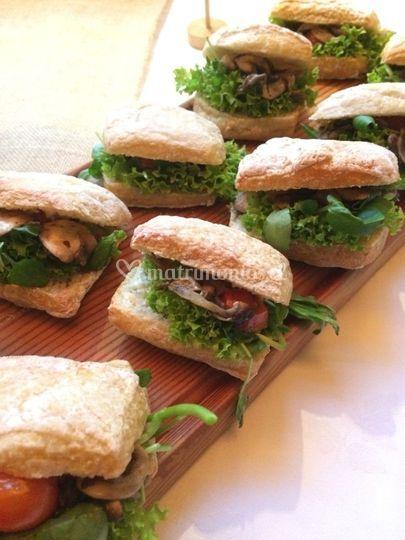 Sándwich vegetarianos