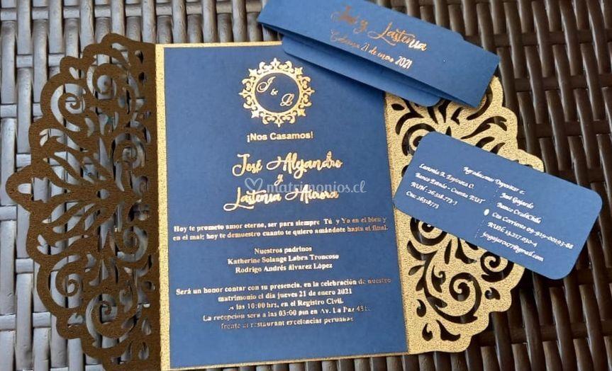 Invitación premium