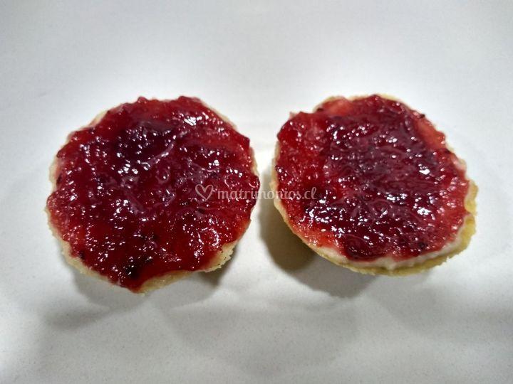 Cheesecake de frambuesa coctel
