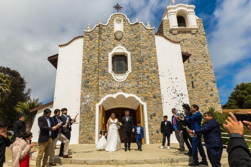 Salida Iglesia Santo Domingo