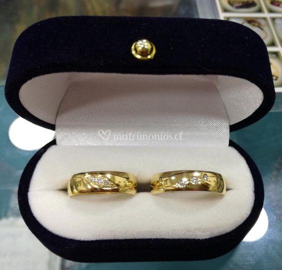 652e9cc1f5bd Anillos de oro para bodas de Joyería V S