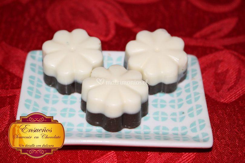 Flores chocolate
