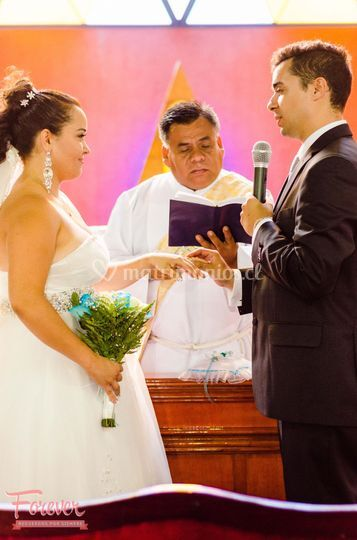 Sesión fotográfica de boda