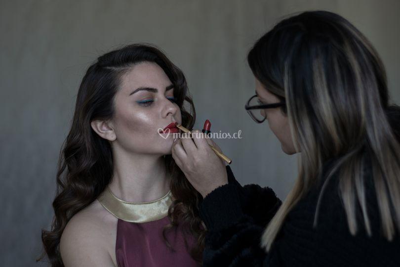 Val Valdiviezo Makeup