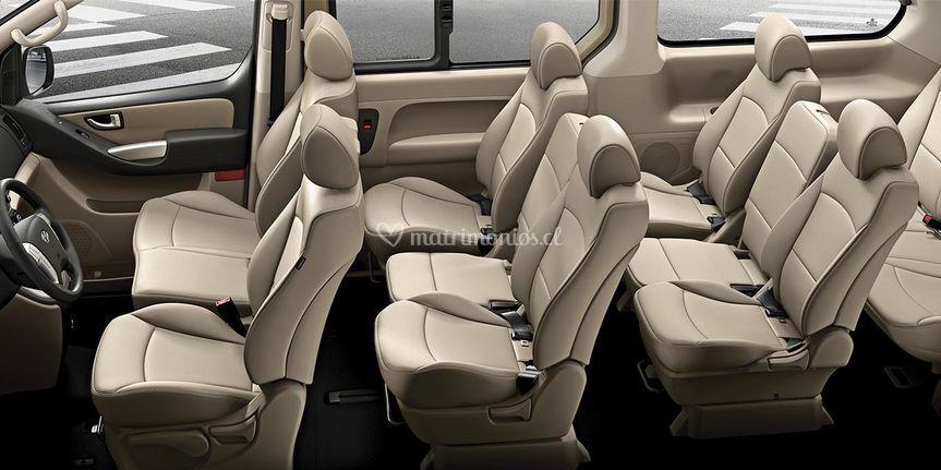 Interior minibus h1