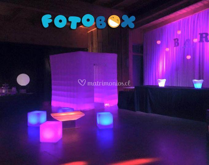 Fiesta Led Temuco de Fotobox