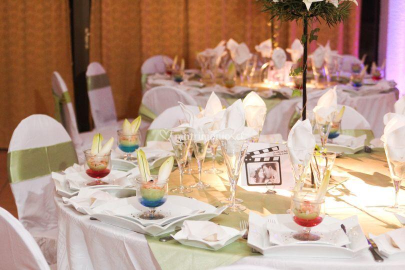 Variedad en banquetería
