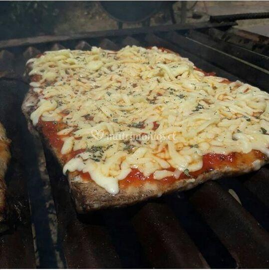 Entradas de malaya a la pizza