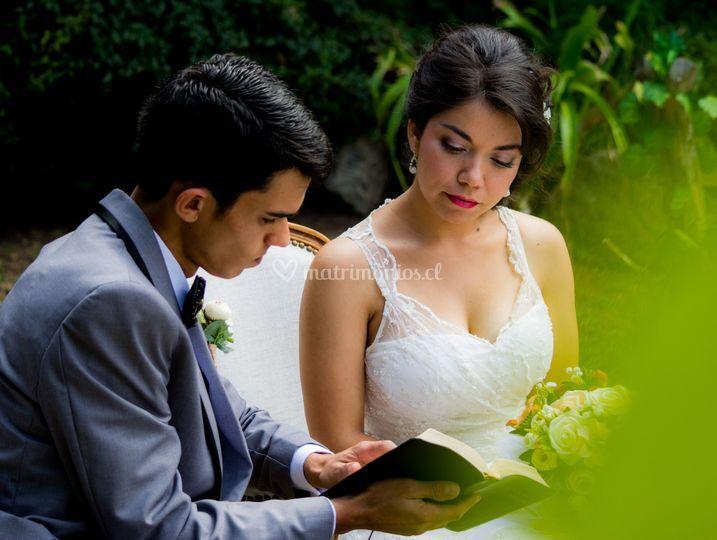 Una linda ceremonia