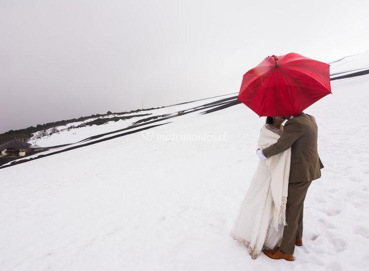 Amor en el volcán Osorno