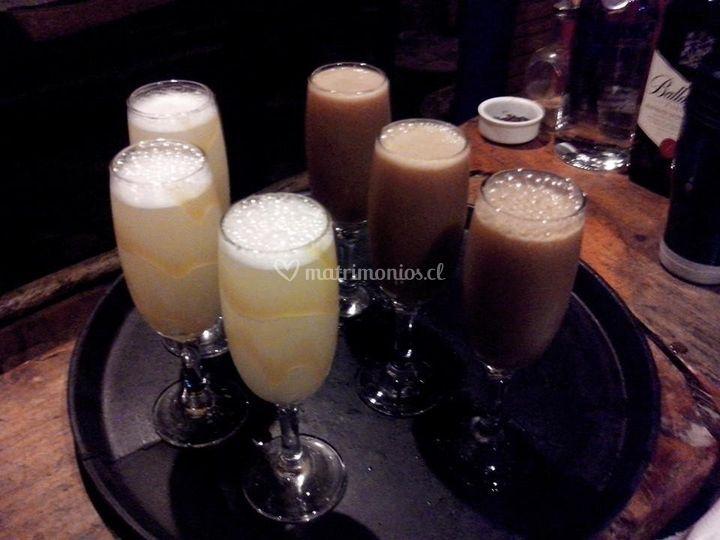 Bebidas excelentes