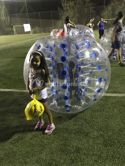 Bumper Ball para niños