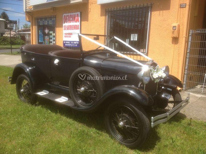 Ford A, Phaeton, 1928