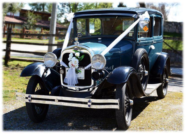 Ford A, Tudor, 1928
