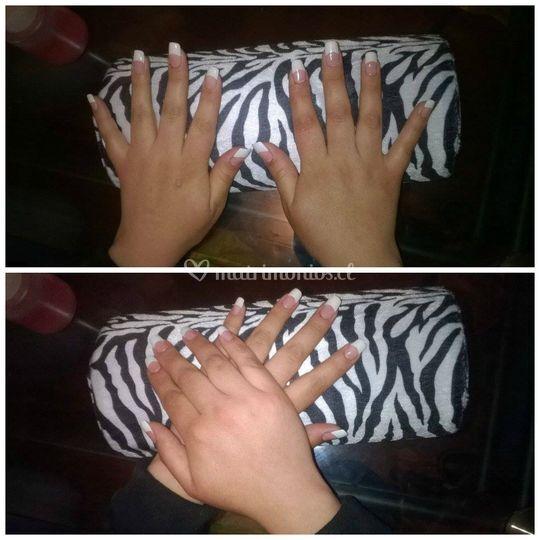 Uñas acrílicas by Triny