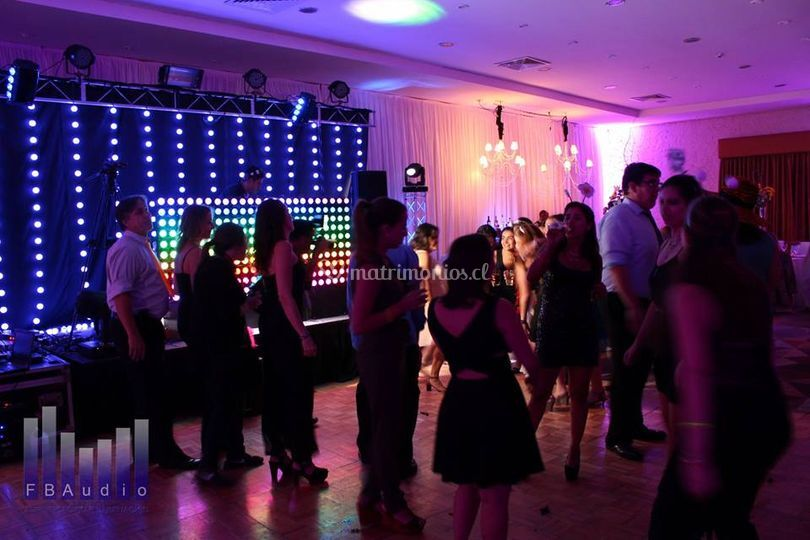 Paneles LED fiesta