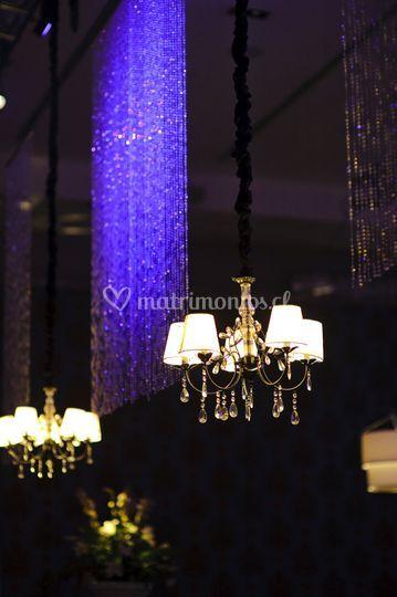 Lámparas con cristales